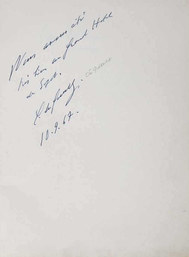 Księga pamiątkowa z wpisami gości Grand Hotelu w Sopocie z lat 1967–1977 - 4