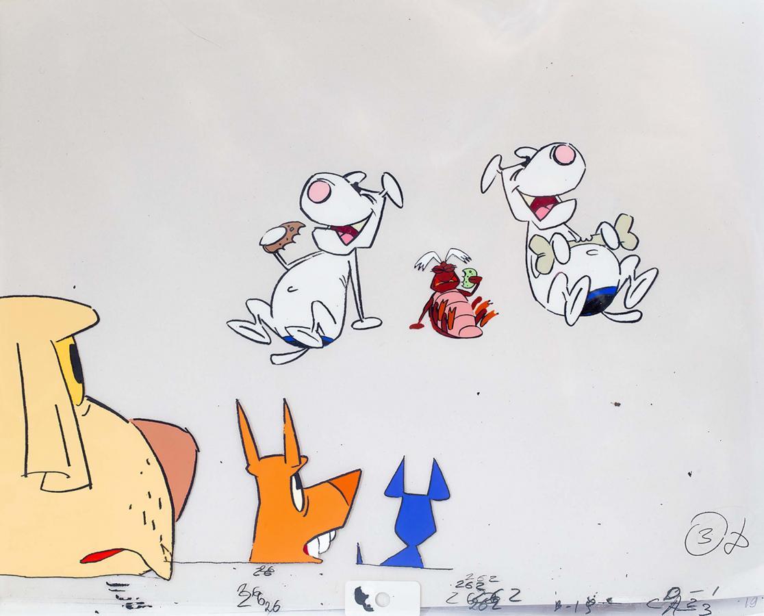 Folie animacyjne z bajki Kundle i reszta (Les Jules: Chienne de Vie!) - 10