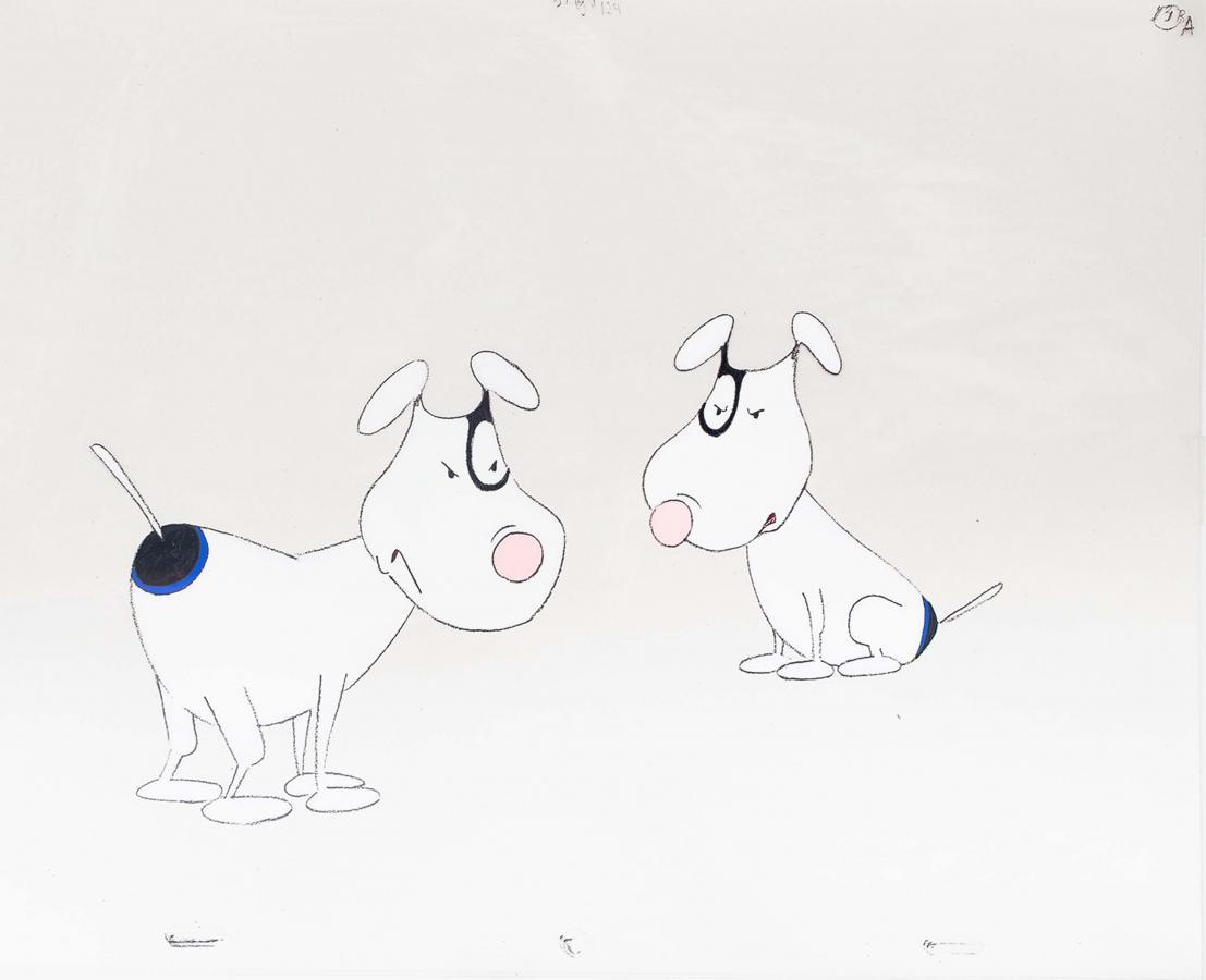 Folie animacyjne z bajki Kundle i reszta (Les Jules: Chienne de Vie!) - 9