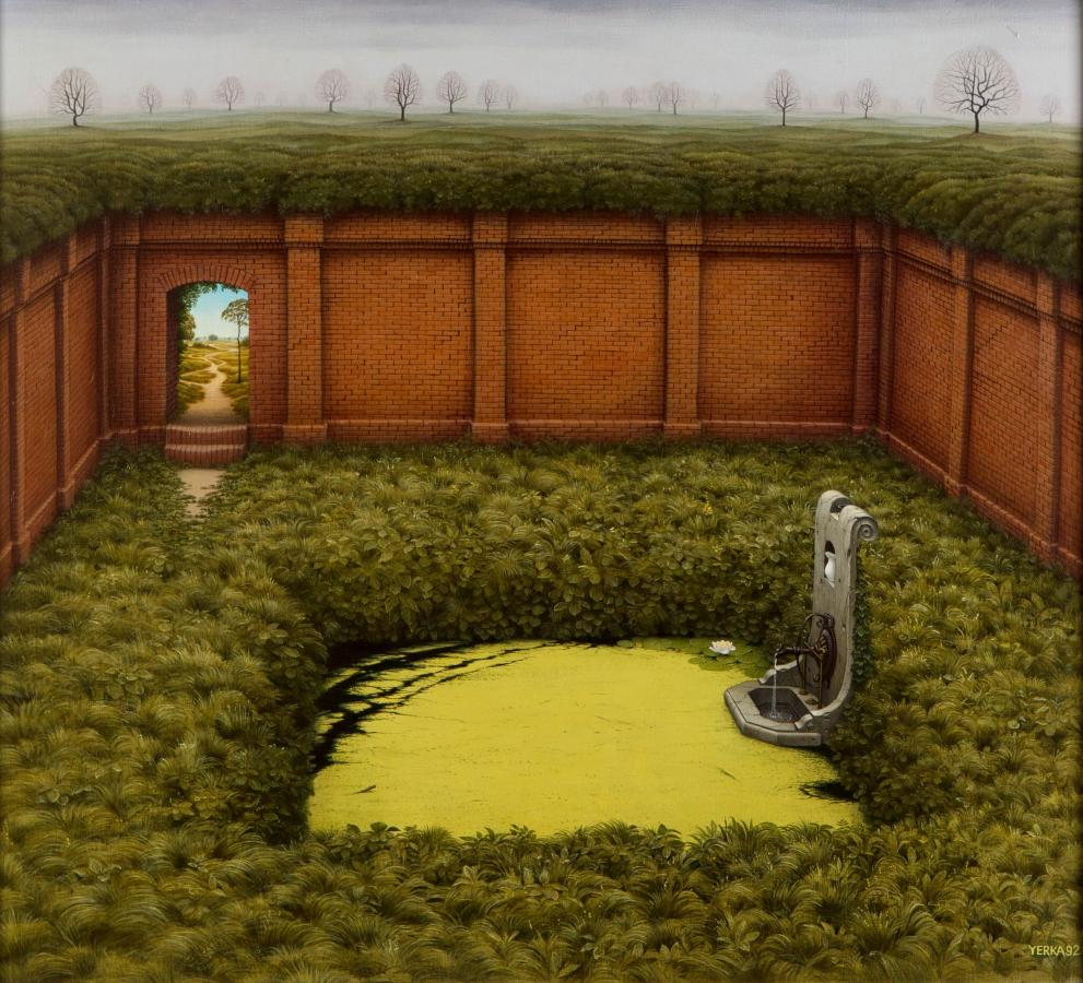 Ogród Oligoceński, 1992 - 2
