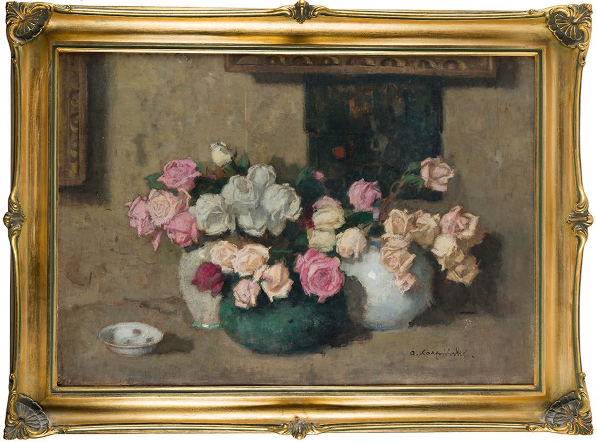 Trzy bukiety kwiatów, ok. 1914 r. - 1