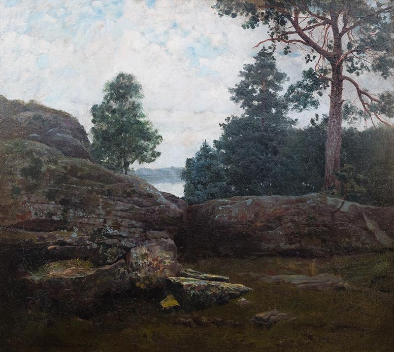 Pejzaż, 1902 r. - 1