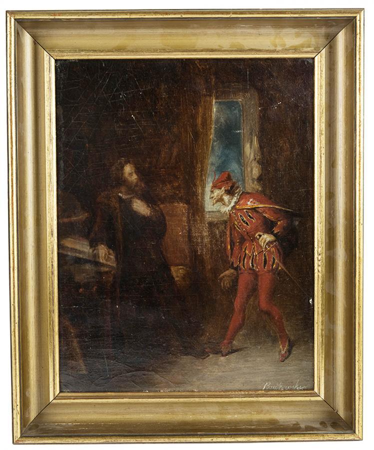 Scena teatralna - Faust - 1