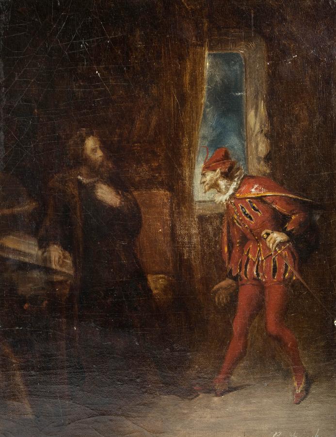 Scena teatralna - Faust - 2