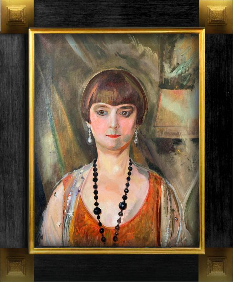 Portret pani Louise Llewellyn-Jareckiej, 1928 r. - 1