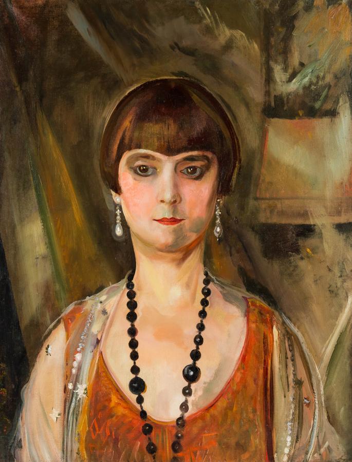 Portret pani Louise Llewellyn-Jareckiej, 1928 r. - 2