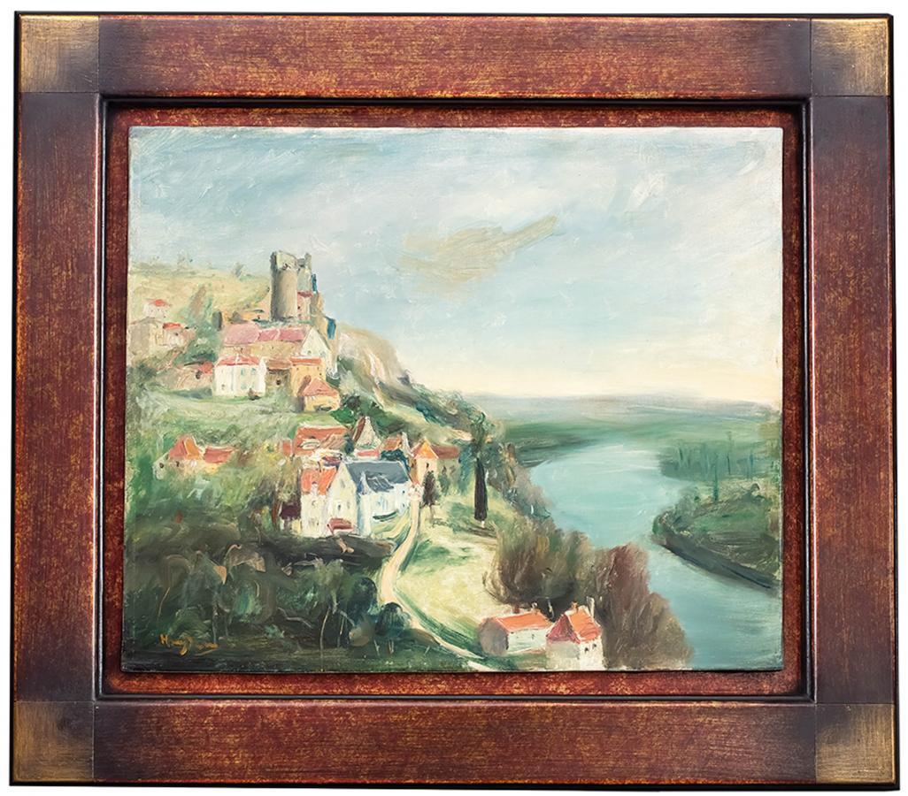 Zamek Castelnaud nad Dordonią, l. 30. XX w. - 1