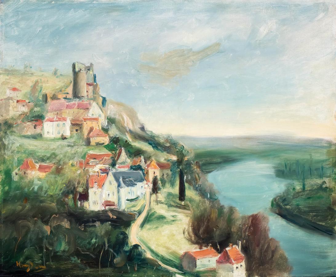 Zamek Castelnaud nad Dordonią, l. 30. XX w. - 2