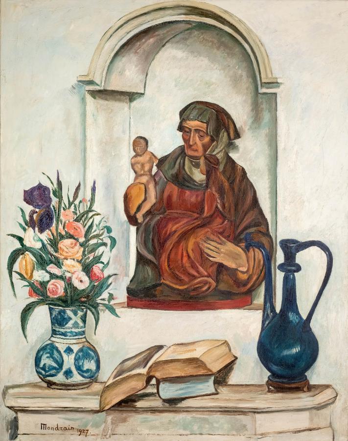 Martwa natura z Madonną, 1927 r. - 2