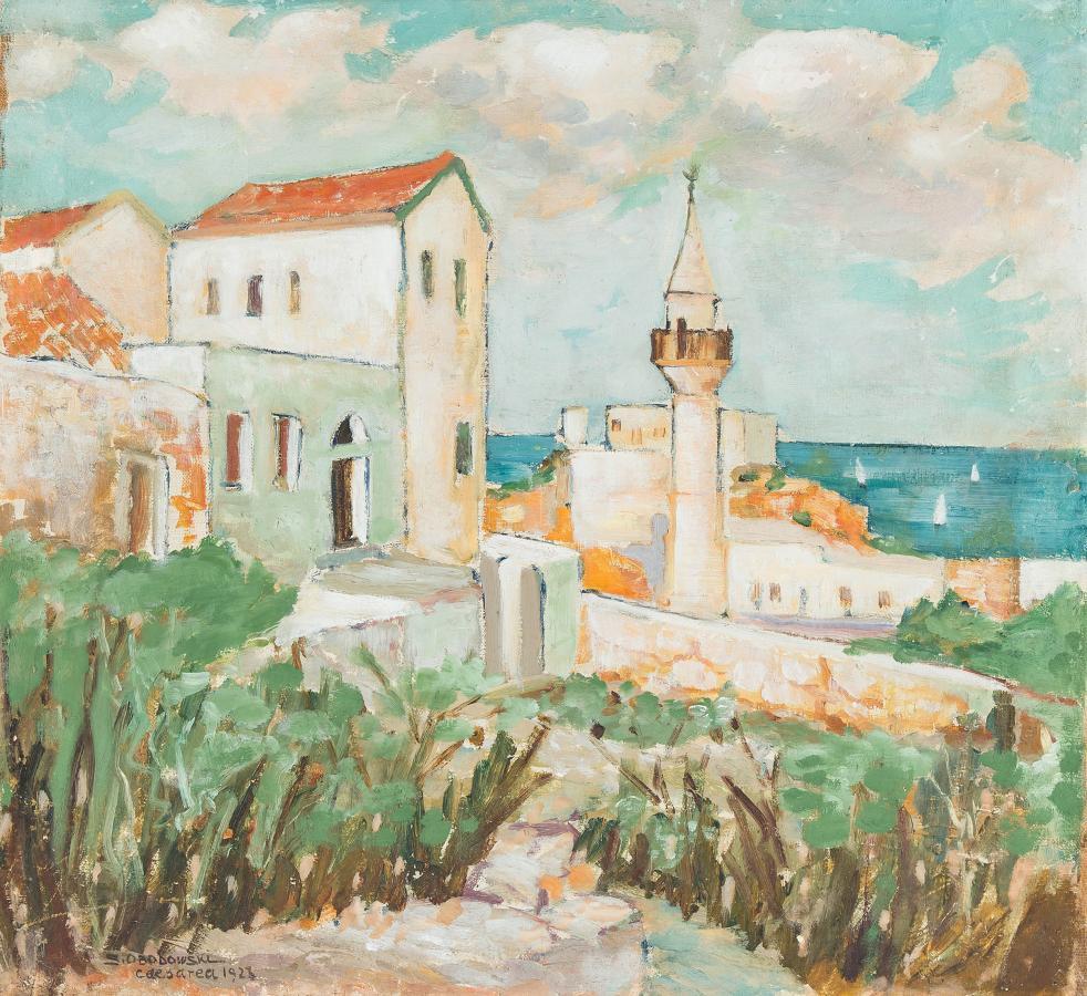 Cesarea, 1923 r. - 2