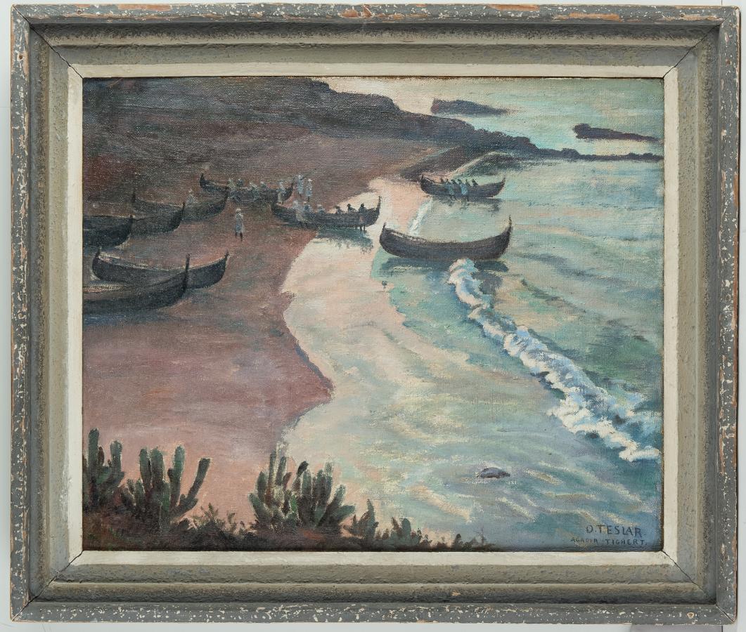 Na brzegu morskim w Tighercie - 1