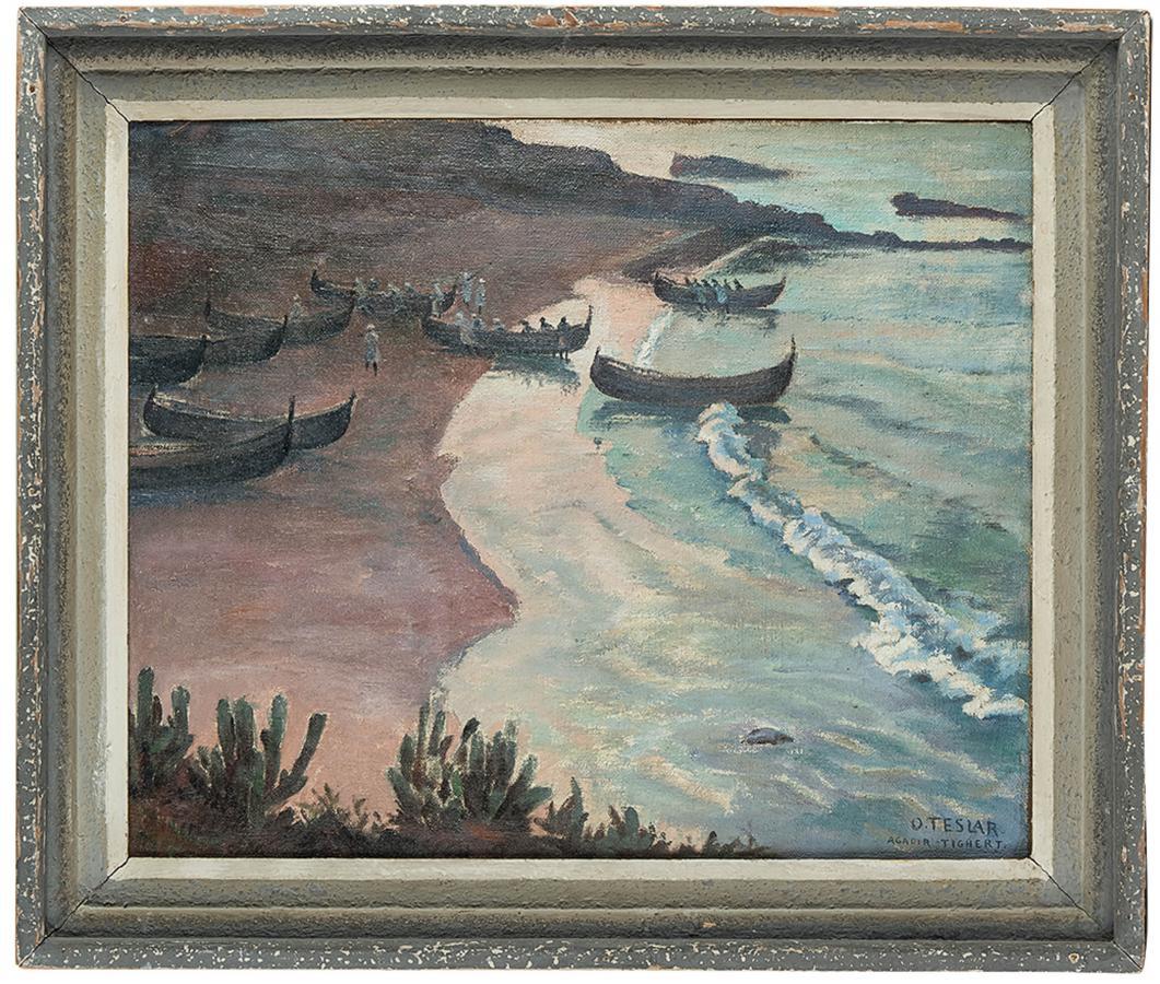 Na brzegu morskim w Tighercie - 2