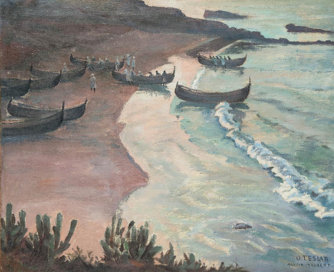 Na brzegu morskim w Tighercie - 3
