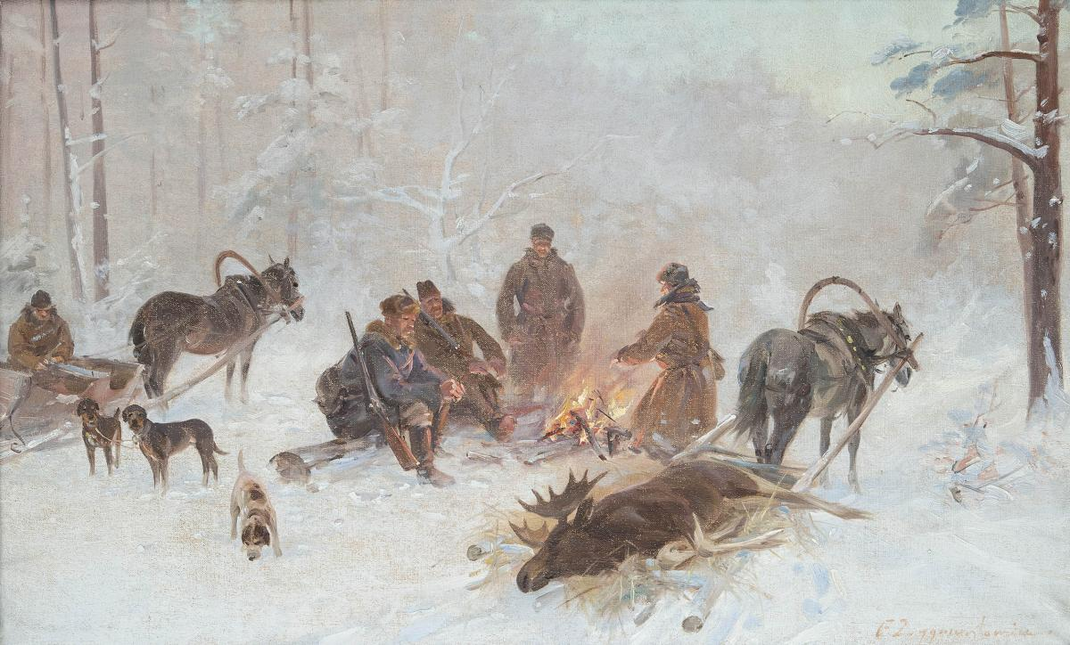 Po polowaniu - 2