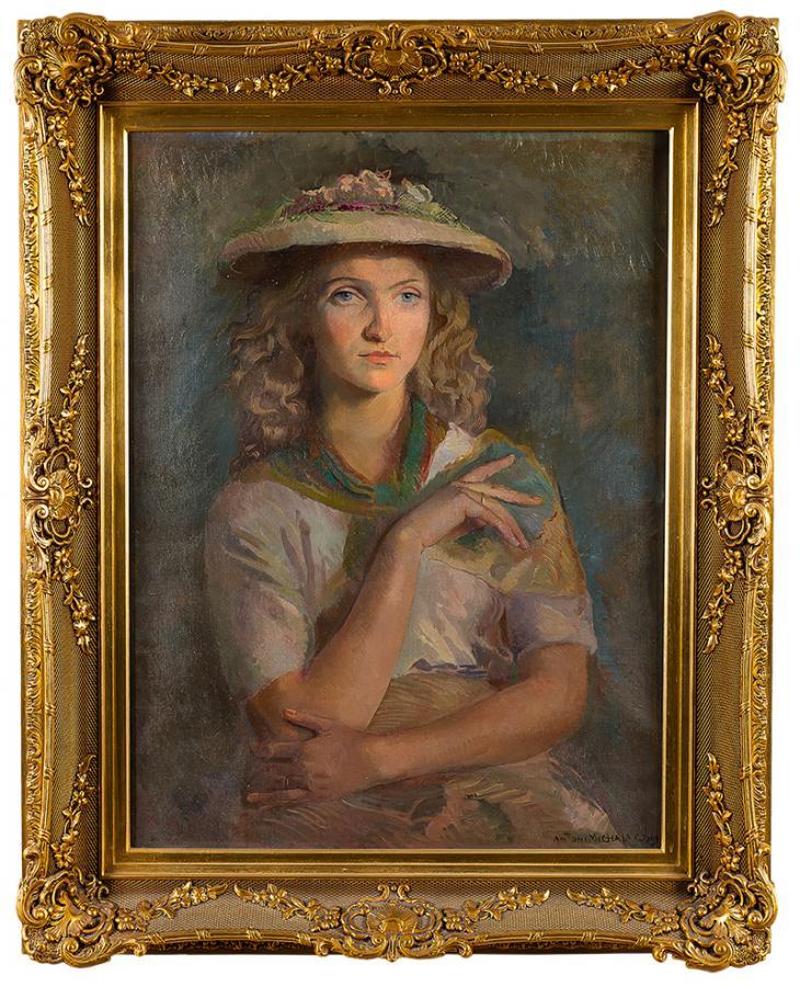 Portret kobiety, 1949 r. - 2