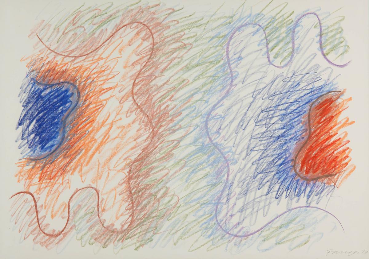 Kompozycja abstrakcyjna, 1970 r. - 1