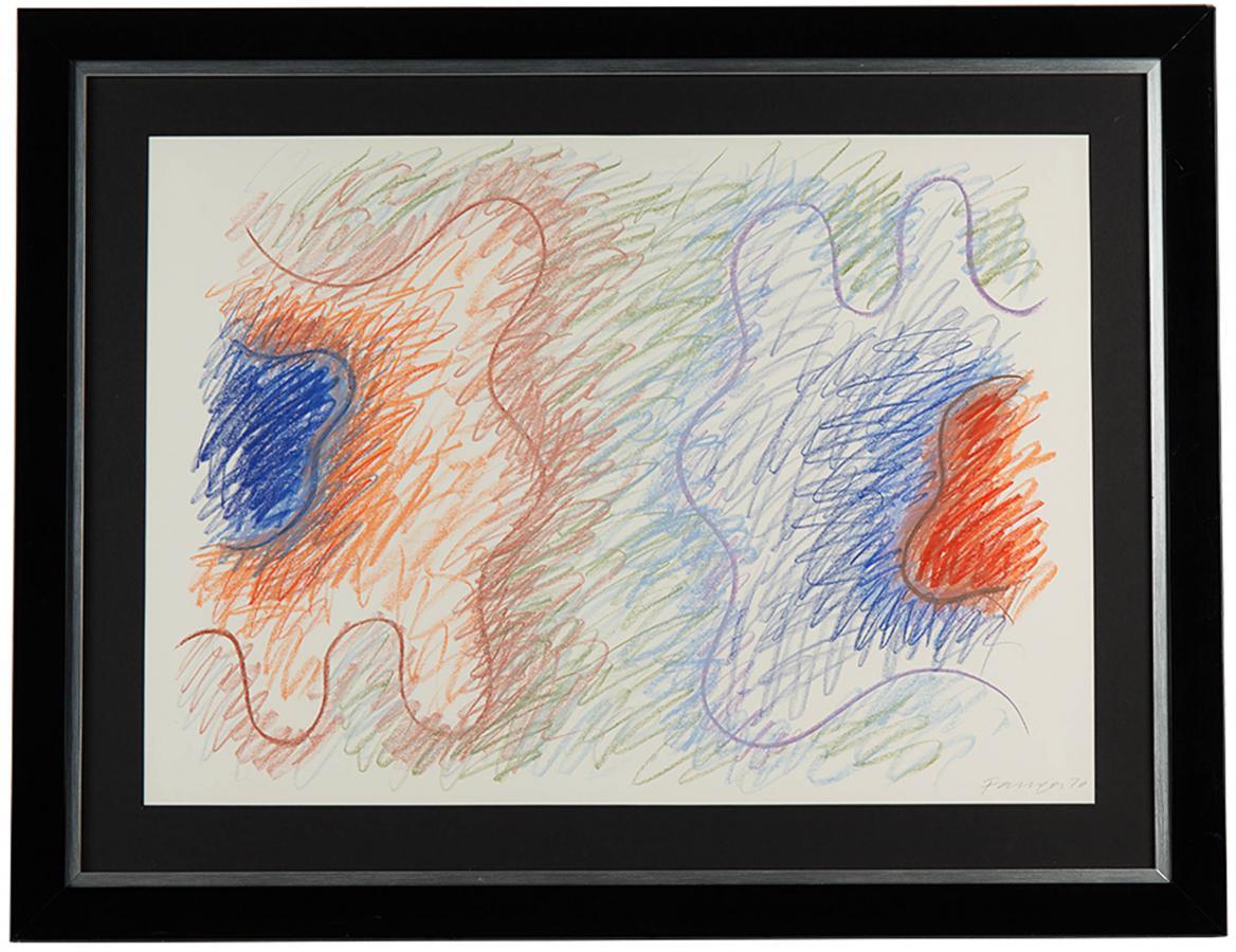 Kompozycja abstrakcyjna, 1970 r. - 2