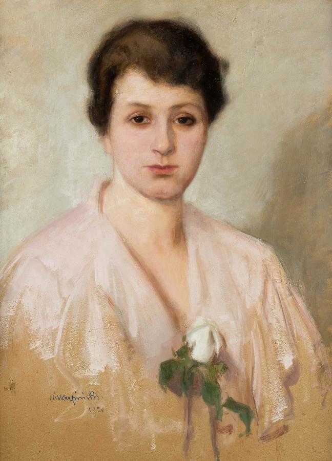 Biała róża, 1920 r. - 2