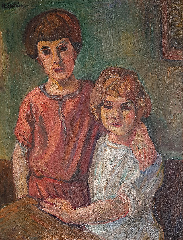 dwoje-dzieci-ok-1924-r-henryk-epstein-2334870