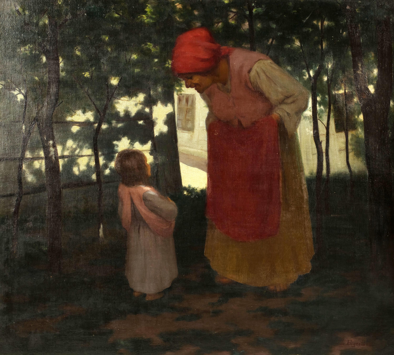 w-zaciszu-wiejskiem-1912-r-leon-bigosinski-1302738