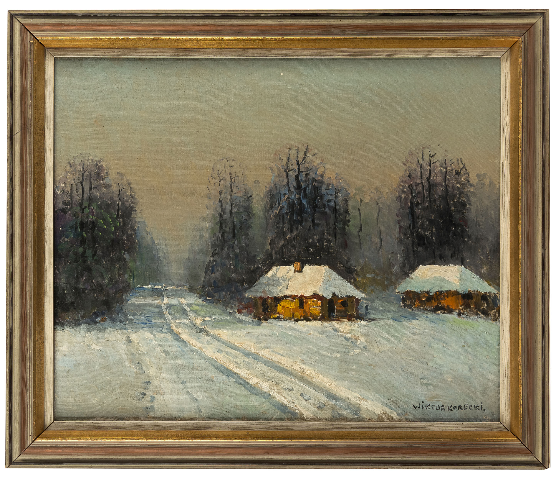 pejzaz-zimowy-z-chatami-wiktor-korecki-1638063
