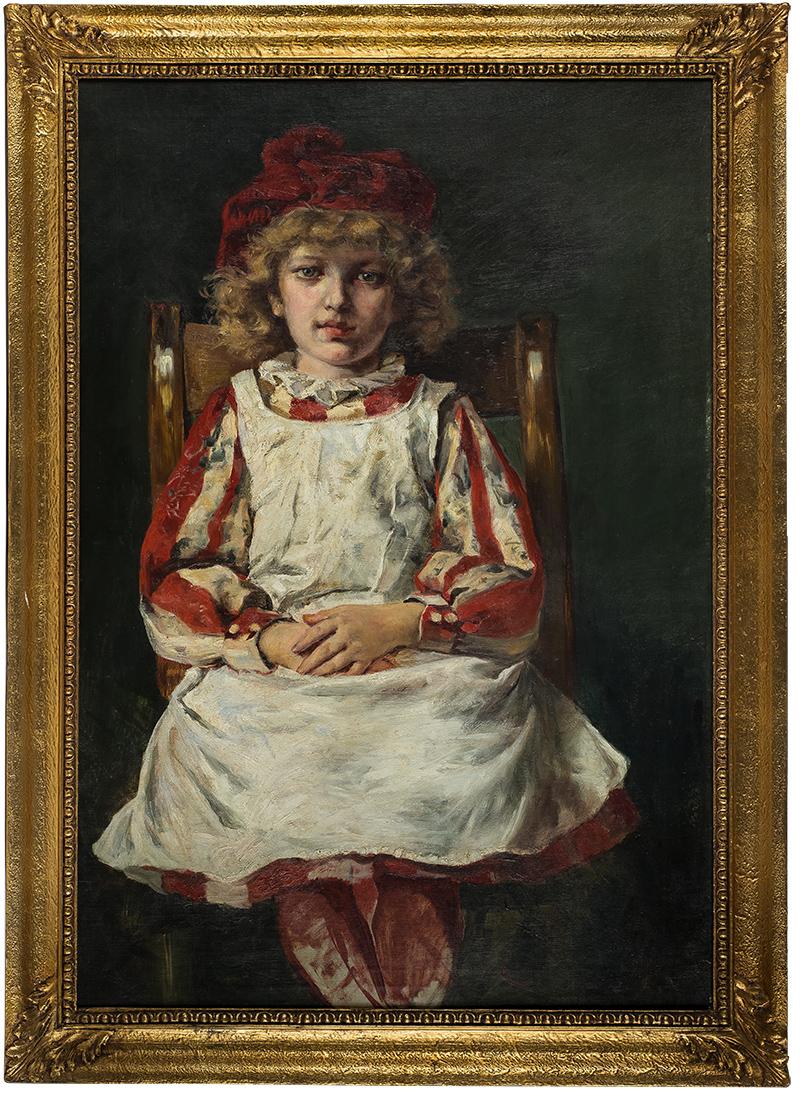 Józef Krzesz-Męcina | Portret dziewczynki