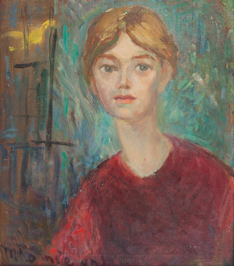 Maria Komierowska | Portret kobiety, 1967 r.
