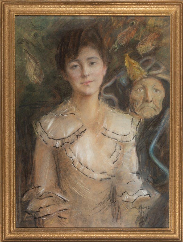 Teodor Axentowicz | Portret kobiety