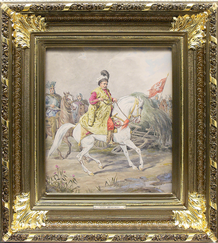 Józef Brodowski | Jan III Sobieski, ok. 1860–1880