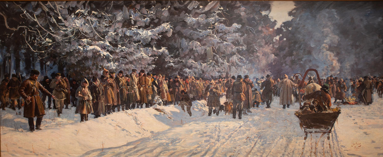 Julian Fałat | Wyjazd na polowanie, 1898 R.