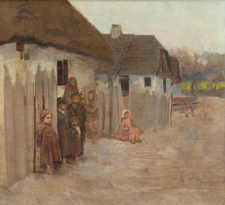Władysław Podkowiński   Wieś II, 1890-1891 r.