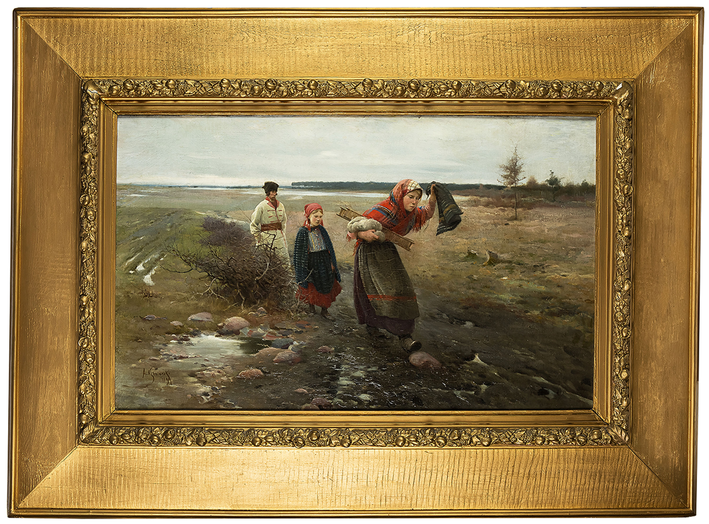 na-blotnistej-drodze-1890-r-apoloniusz-kedzierski-1383492