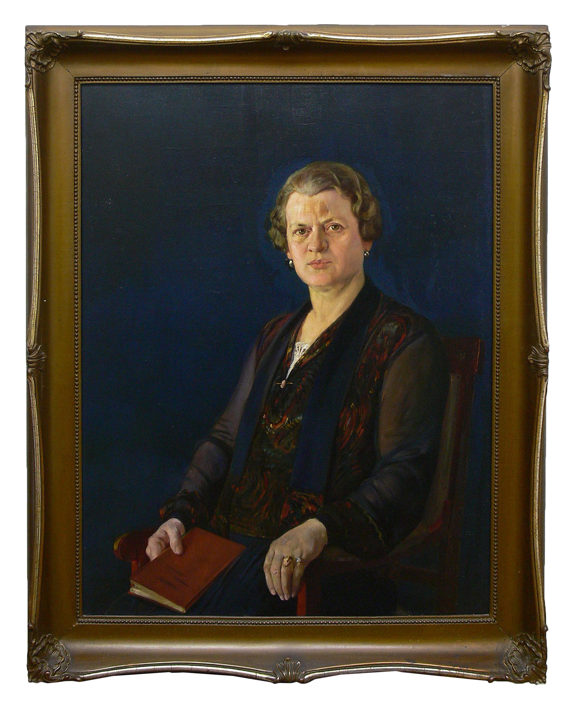 Stefan Matejko | Portret kobiety, 1927 r.