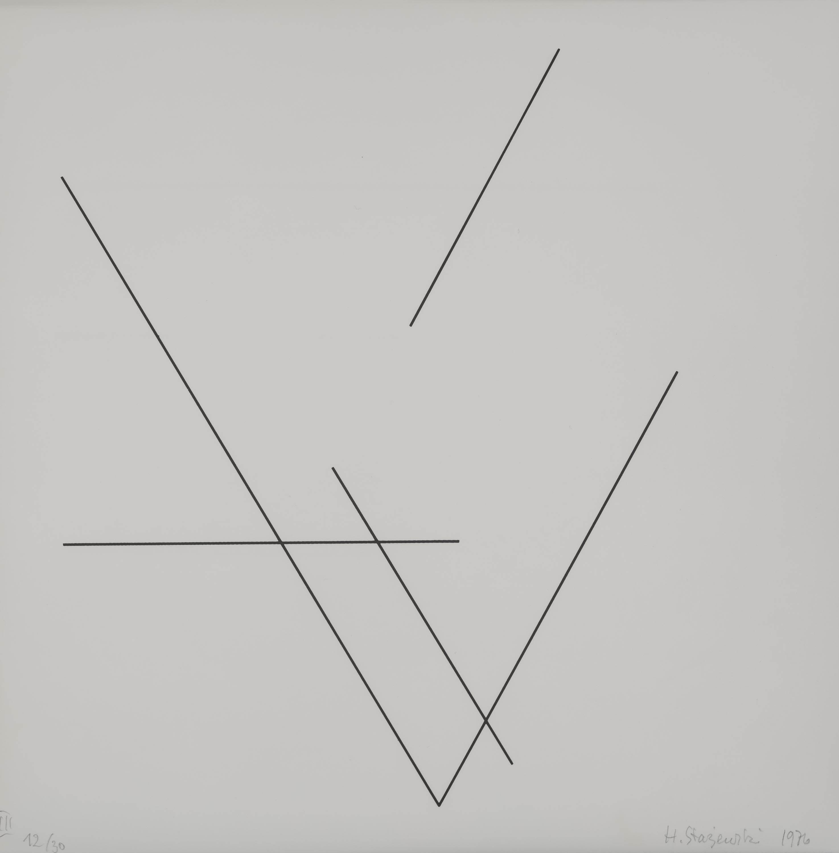 Henryk Stażewski | Redukcje, 1976
