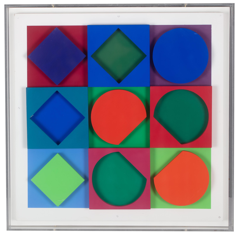 Victor Vasarely | Beryl (pozytyw i negatyw), 1967