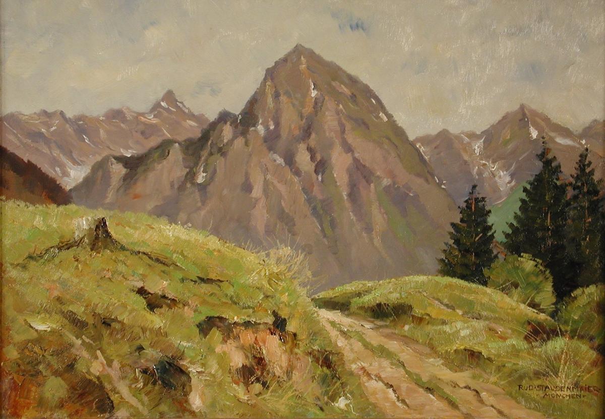 Pejzaż alpejski - 1