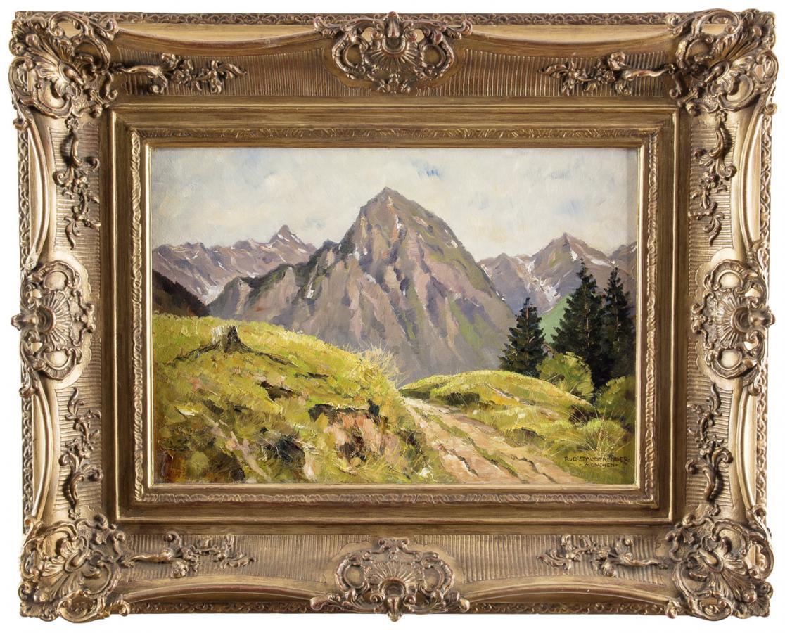 Pejzaż alpejski - 2