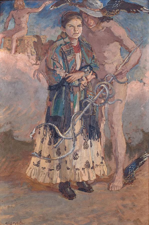 Merkury i Jagniesia, 1914 r. - 1