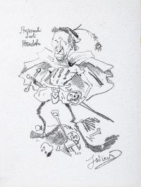 Leon Stępowski w roli Hamleta