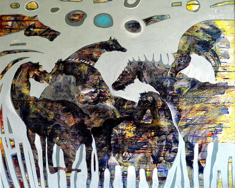 Stadko w szarościach, 2007