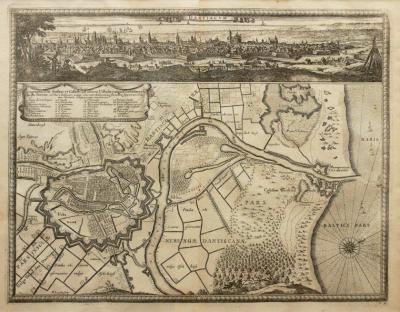 Erik J. Dahlbergh (1625-1703) Dantiscum/Ichnographia Urbi Gedani et Castelli?