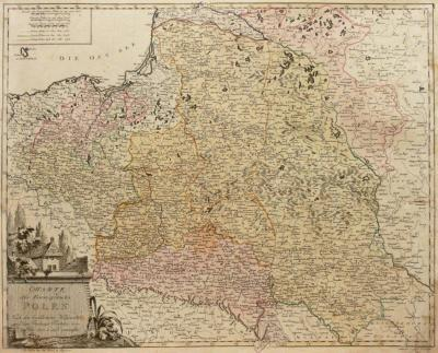 Johannes Walch (1757-1815) Charte des Koenigreichs Polen Nach den bewährtesten Hülfsmitteln?