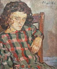 Portret dziewczyny, około 1920 r.