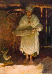 Przesiewanie (Przesiewaczka), 1925 r.