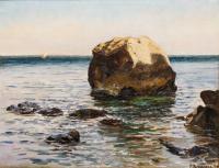 Skała na morzu, 1897 r.