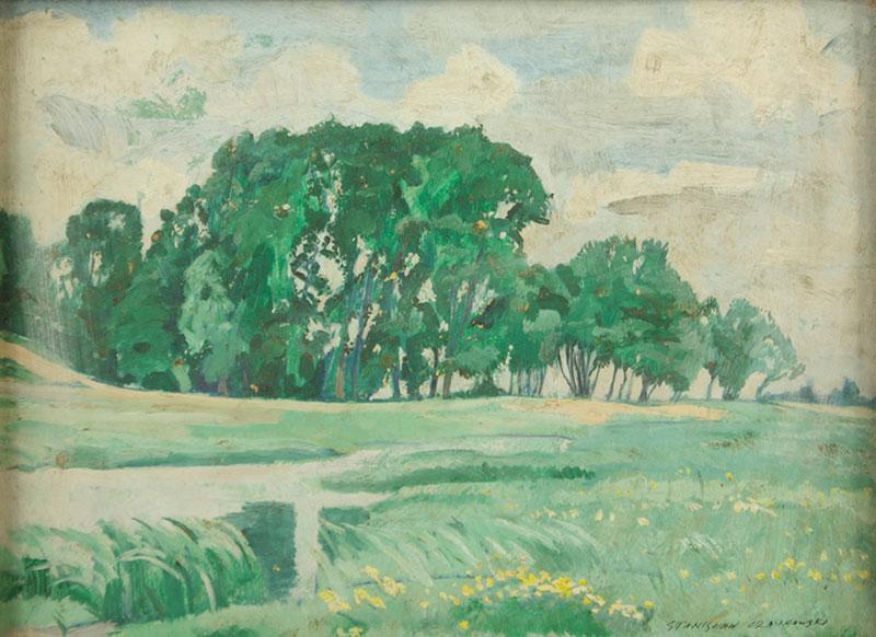 Zegrzynek pod Warszawą, k. Serocka, 1936 r.
