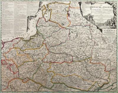 Jean Nicolas de Tillemont (?-1699) Jean Baptiste Nolin I (1657-1708) Le Royaume de Pologne Comprenant les Etats de Pologne?