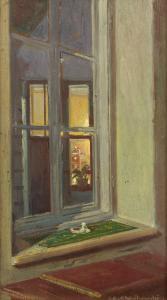 Widok na okno, 1920 r.