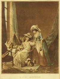Trudne wyznanie, 1787