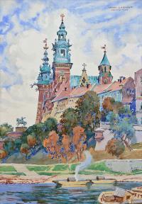 Wzgórze Wawelskie, 1935 r.